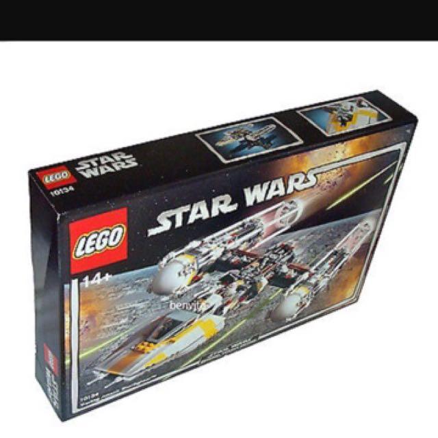 Discontinued StarWars UCS Y Wing Lego 10134, Toys & Games, Bricks ...