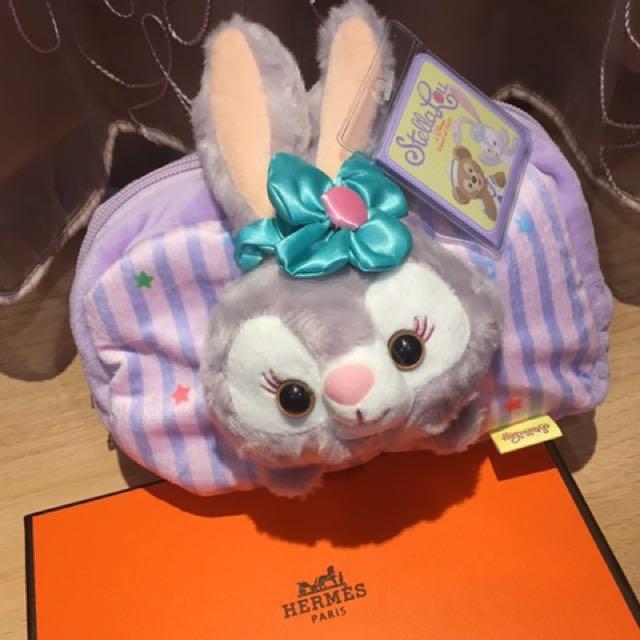 Disney Stella Lou兔兔化妝包