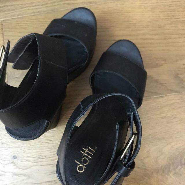 Dotti Chunky Heels