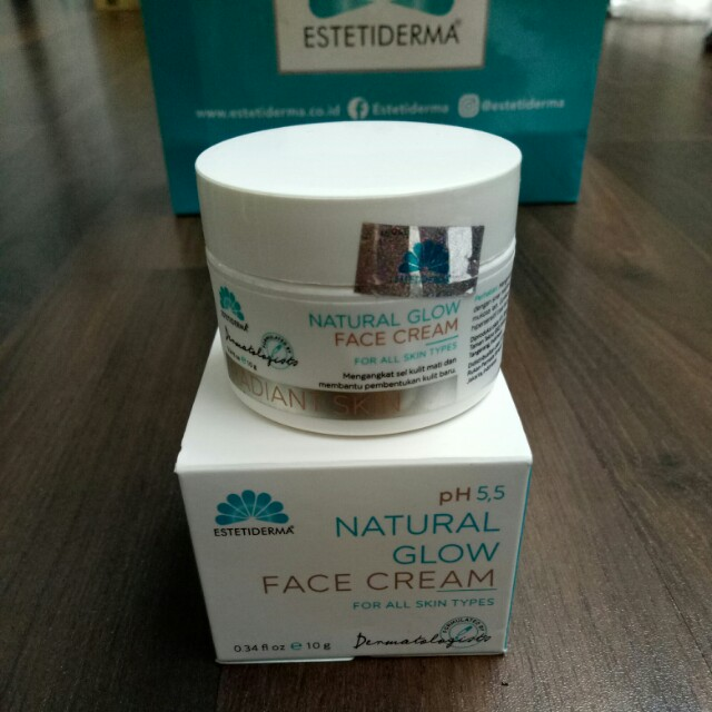 Estetiderma Natural Glow Face Cream for All Skin Type