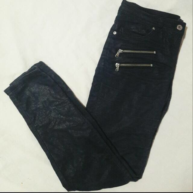 F21 Zippered Jeans