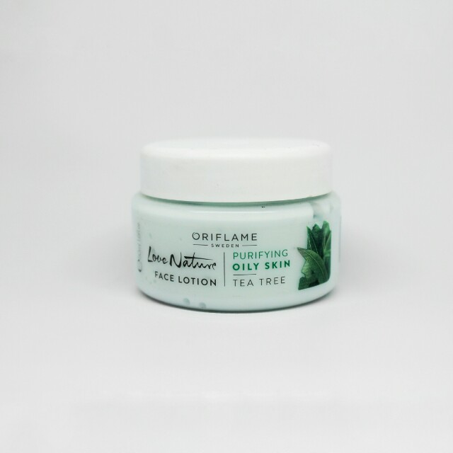 Face lotion oriflame tea tree