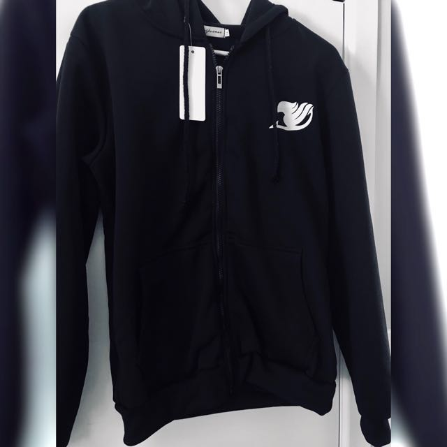 Fairy Tail (anime) black hoodie