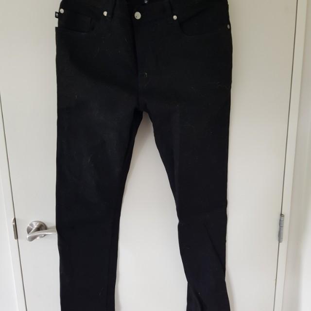 Federation Black Jeans