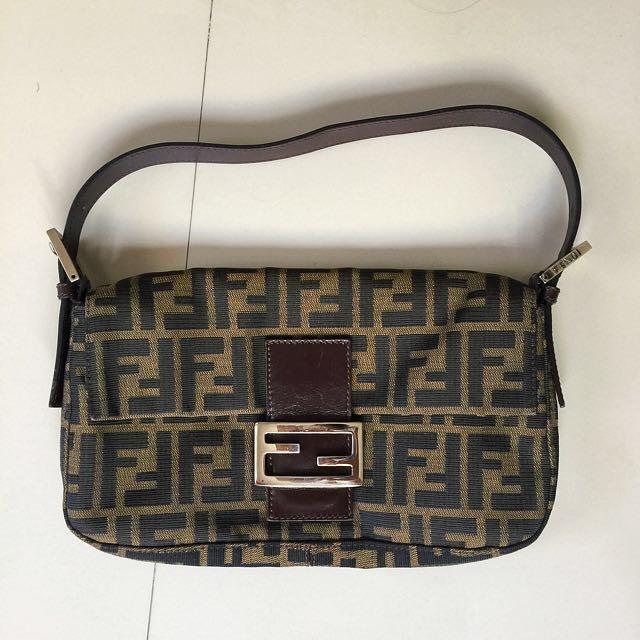 Fendi Tobacco Brown Handbag