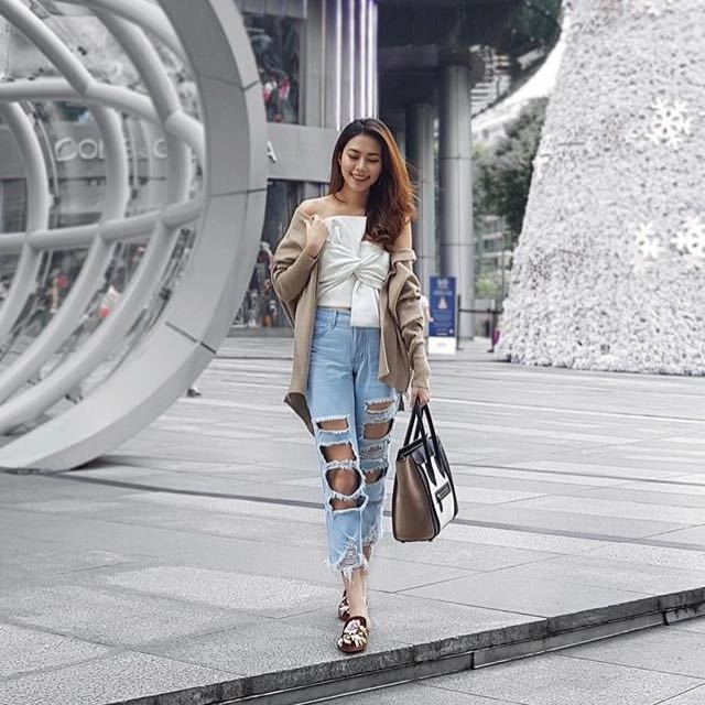fevried ripped jeans