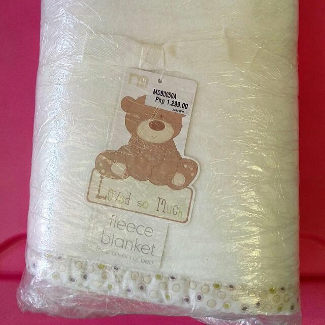 Fleece Blanket From Mother Care