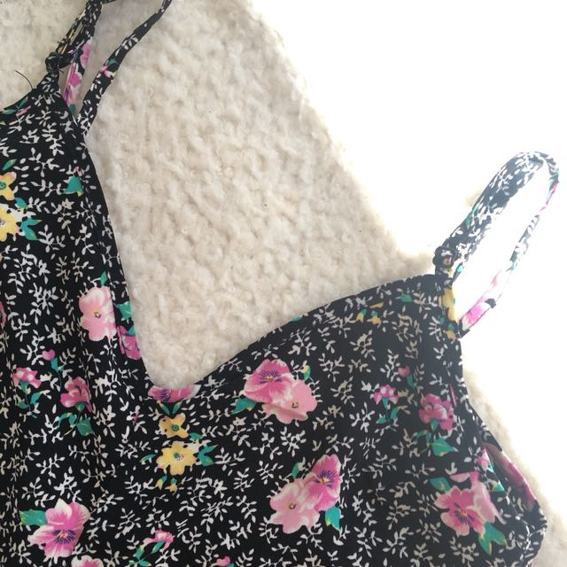 Floral Slip Playsuit