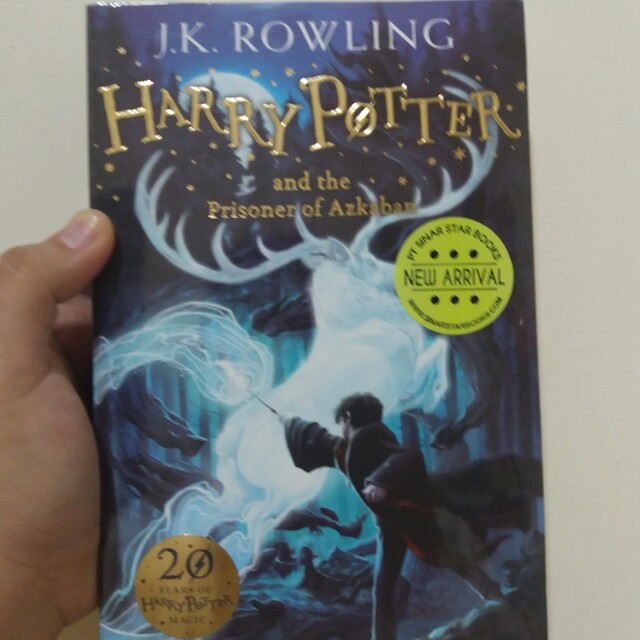 (Freeongkir pulau jawa) Harry potter the prisoner of azkaban
