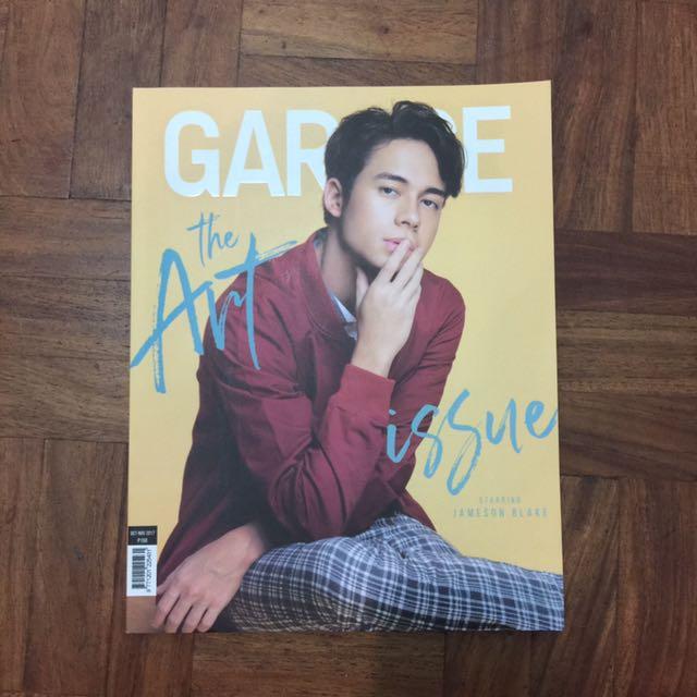 Garage Magazine Jameson Blake