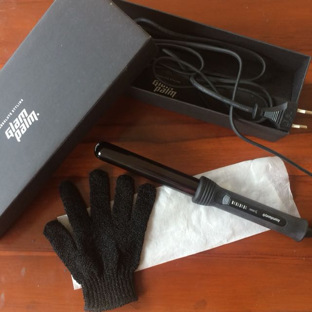 Glam Palm Clipless Curling Iron Proffesional