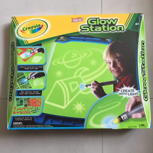 glow station babies kids toys on carousell
