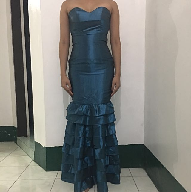 Gown - Mermaid Style; Shade Of Blue