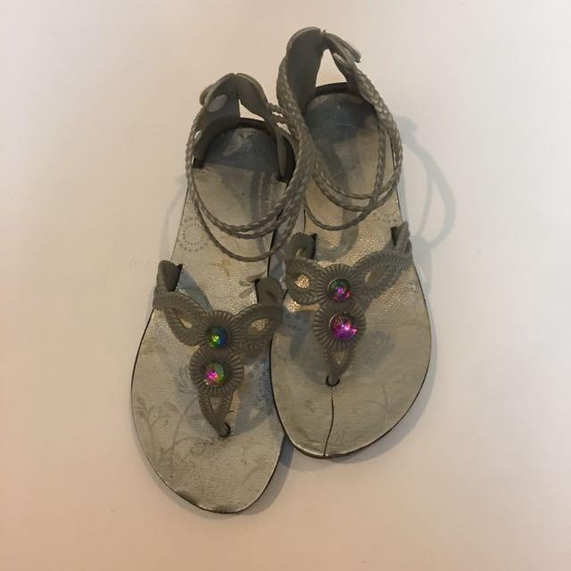 Grendha Inspired Jewel Sandals