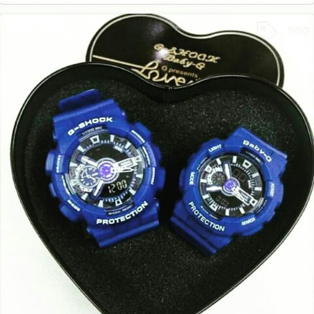 G-shock & Baby G Couple Watch, Preloved Women's Fashion ...