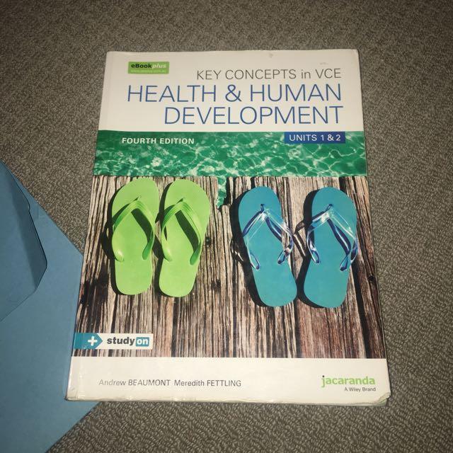 Health and Human Development Unit 1&2