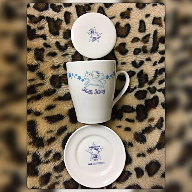Hello Kitty陶瓷杯組💕