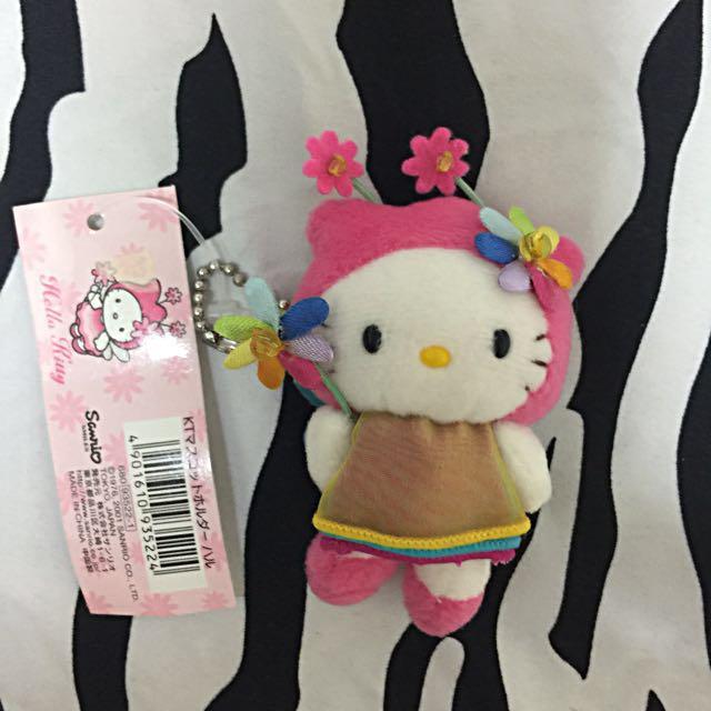Hello kitty造型吊飾玩偶💕