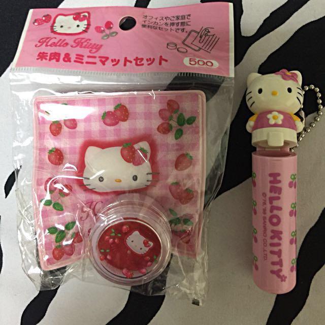 Hello Kitty 印尼印章殼💕(剩下印尼)
