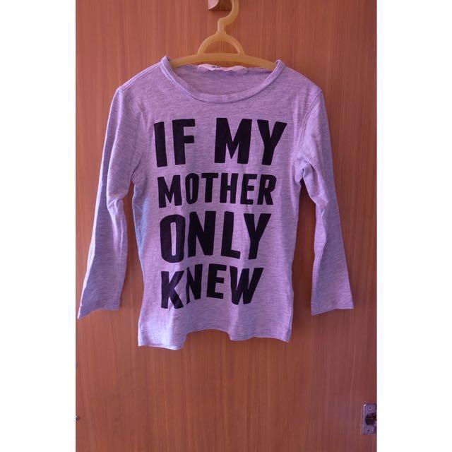 H&M Statement Longsleeve Shirt