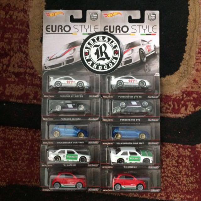 Hotwheels Euro Style