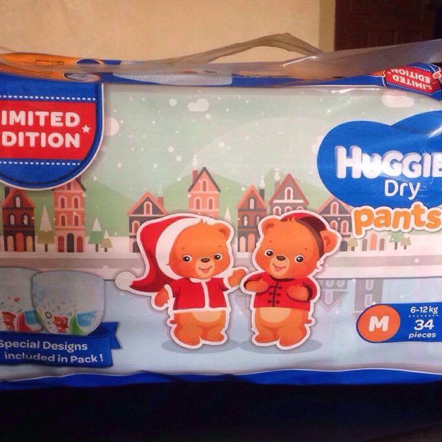 Huggies Medium 34's (Limited Edition)