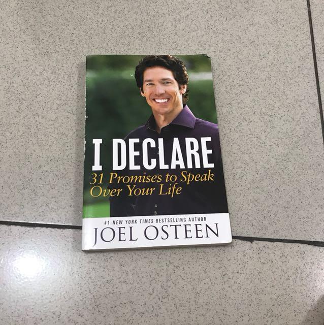 I declare - Joel Osteen
