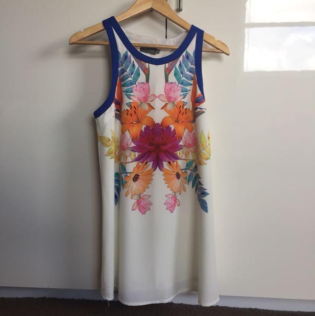 Indikah Floral Dress