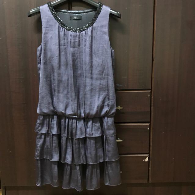 Iora violet dress