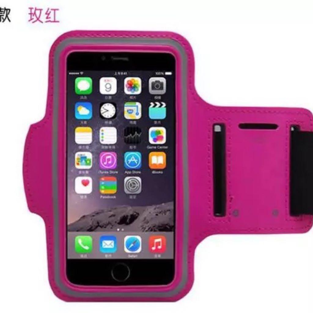 iPhone 運動用手機臂帶🏃