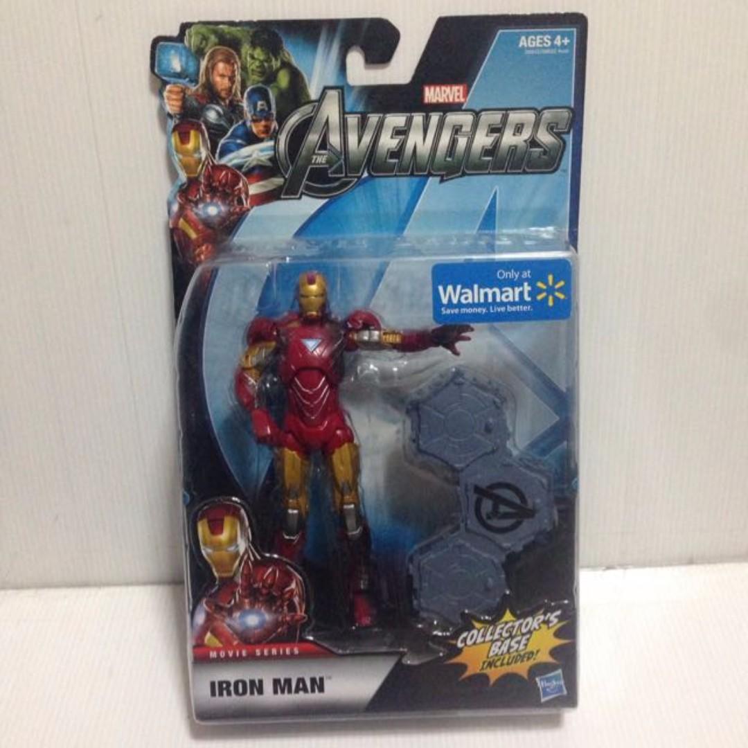 Iron Man Mark VI Battle Damage Legends Movie series Walmart