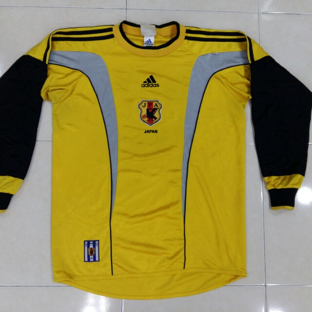 4d74bbcecc4 Japan goalkeeper vintage football jersey, Sports, Athletic & Sports  Clothing on Carousell