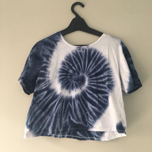 Jay jays tie die shirt (XS)