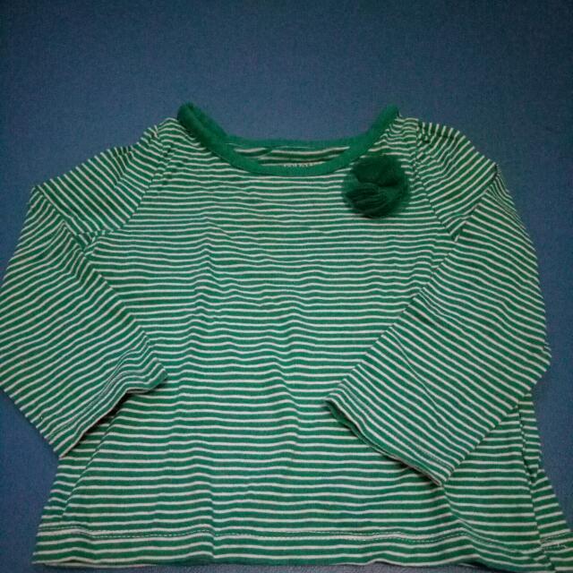 Kaos Anak Baby GAP Size 12-18m