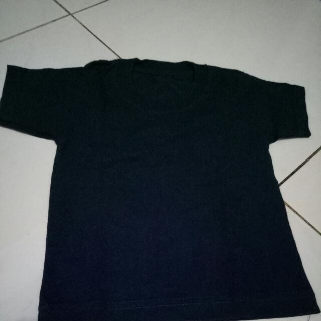 Kaos Anak Polos Size 6-18m