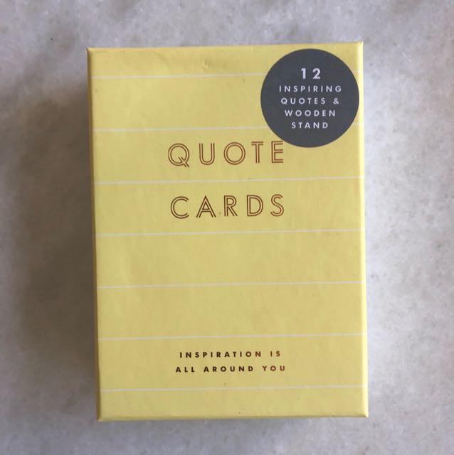 Kikkik Quote Cards