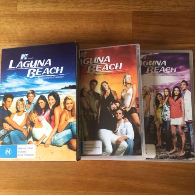 Laguna Beach DVD's