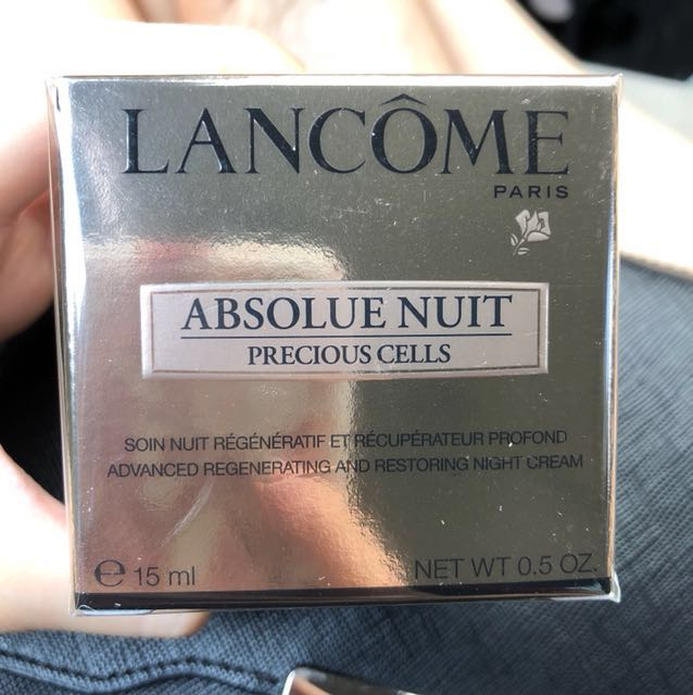 Lancome absolue nuit ( precious cells)