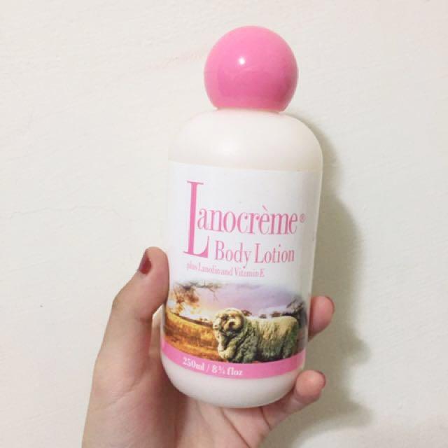 Lanocreme身體乳