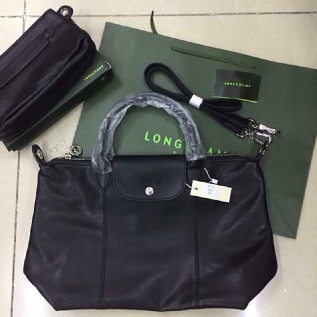 Leather Longchamp