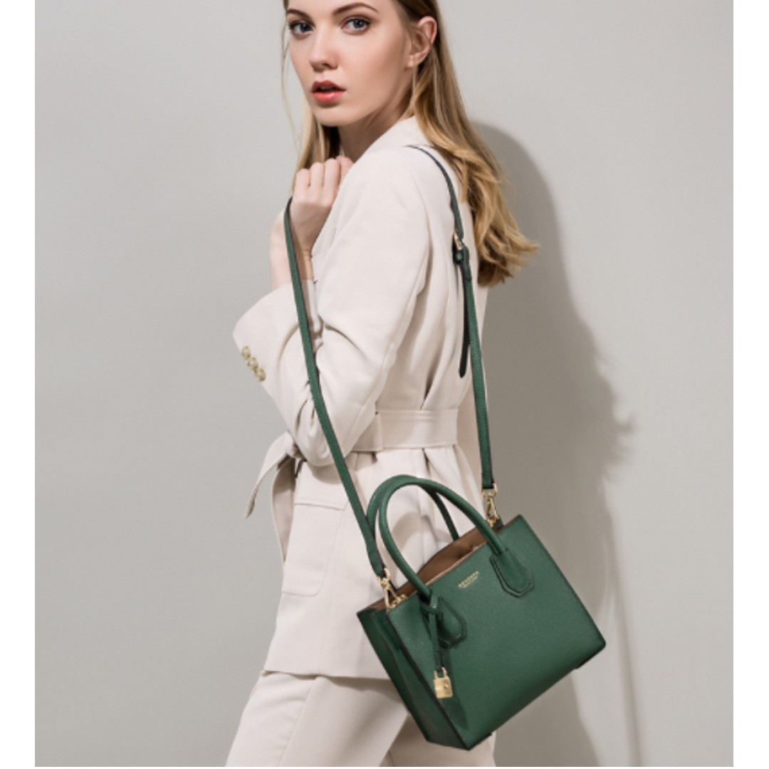 LEATHER SATCHEL - Real leather! Great Quality!