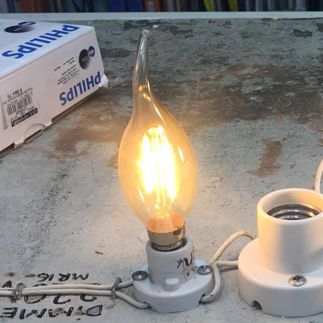LED yellow light 3 watts for chandelier 20 pcs available (orig price 199 each)