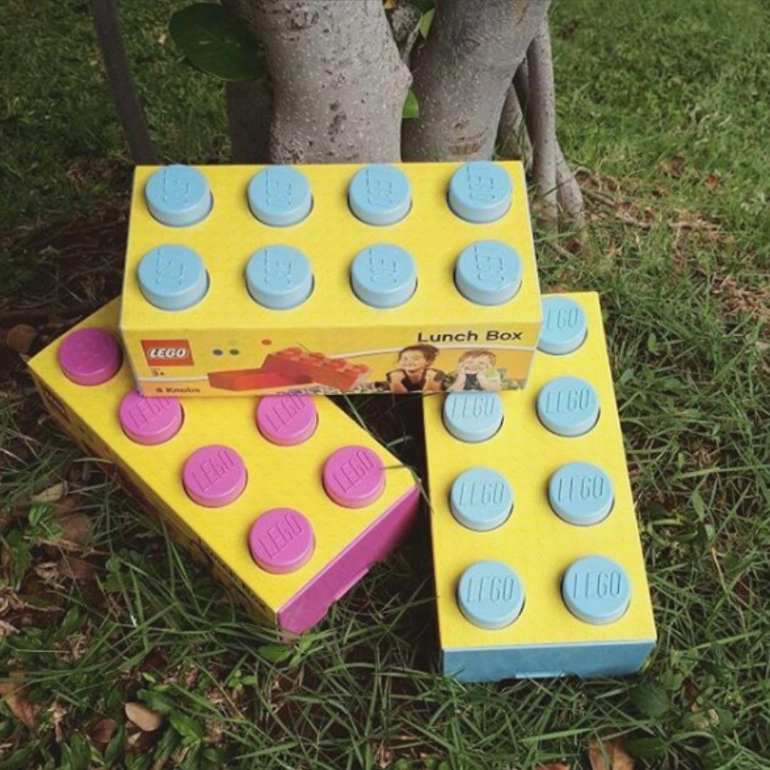 LEGO LUNCHBOX in Light Blue (brand new).