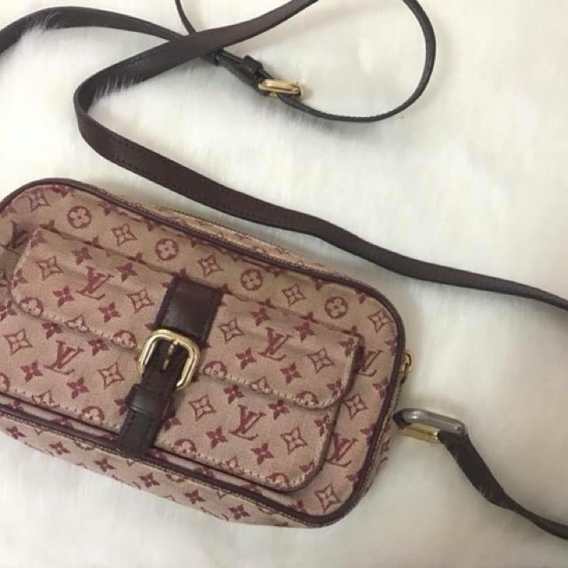 Louis vuitton mini lin sling bag