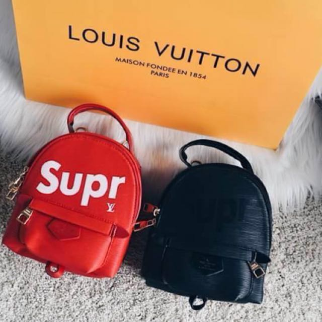 Louis vuitton x Supreme Palm Spring mini Backpack