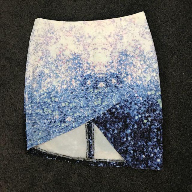 Luvalot assymetrical skirt size 6-8