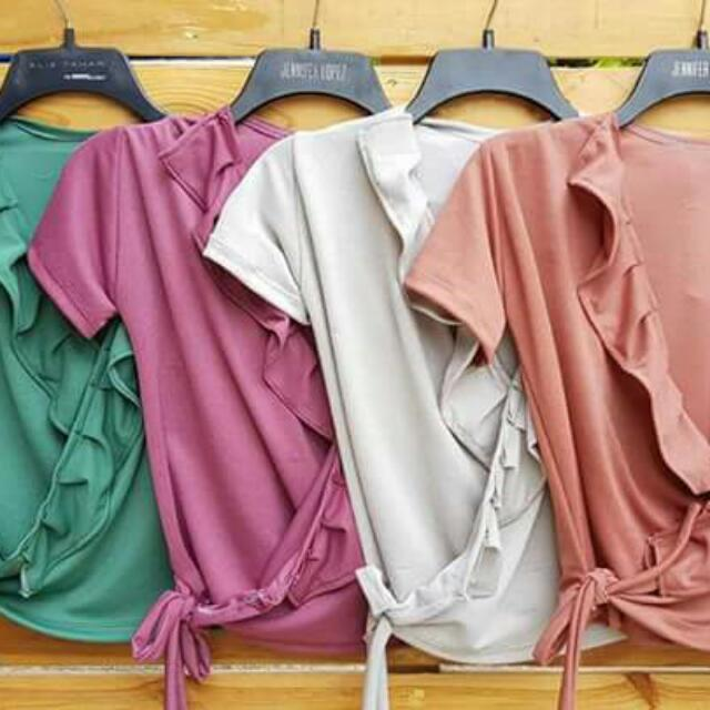 Maine Ruffles Blouse