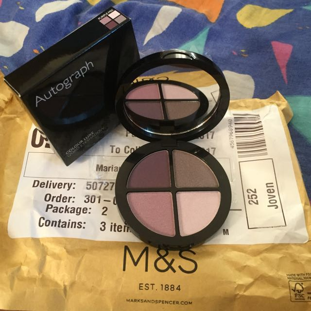 Marks & Spencer Colour Luxe Quad Eyeshadow‼️💁