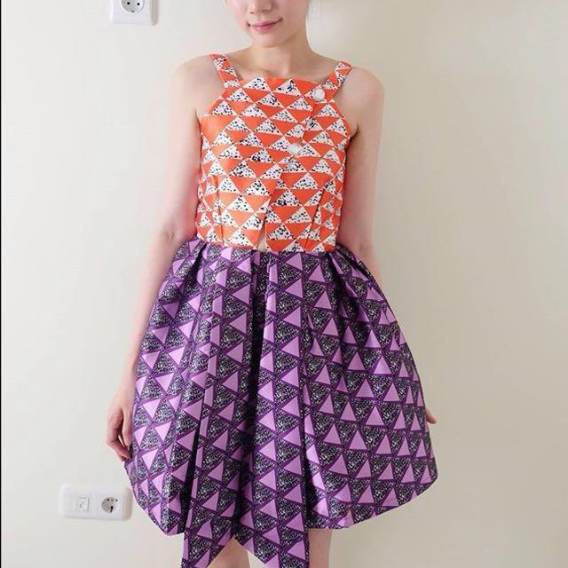 Mary Satin Dress