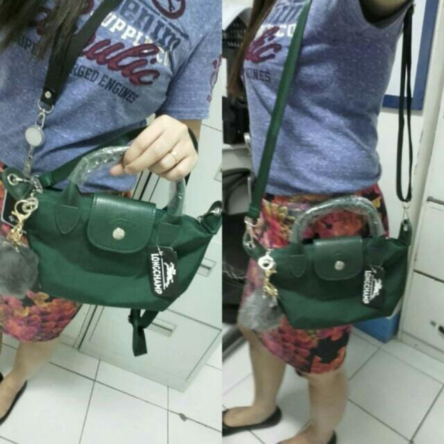 Mini Longchamp sling bag